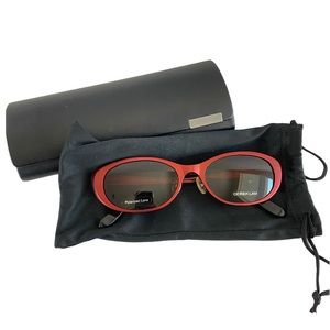 Derek Lam Veronica Burgundy Tinted Sunglasses